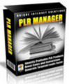 PLR Manager (Comes with Master Resale Rights! )