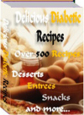 Product picture Delicious Diabetic Recipes