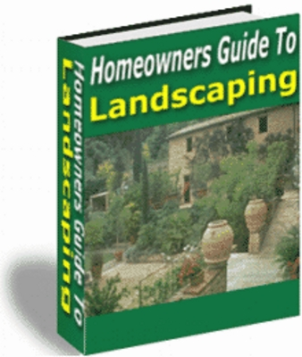 Product picture Homeowners Guide to Landscaping