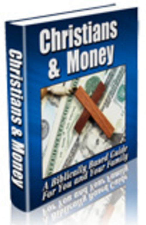 Product picture Christians & Money